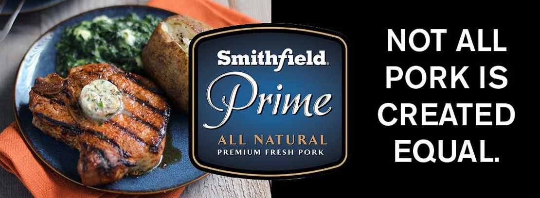 Smithfield Prime all natural premium fresh pork - not all pork is created equal.