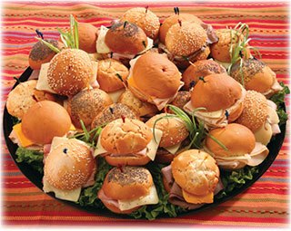 Deli Tray - Golden Roll Party Pleaser