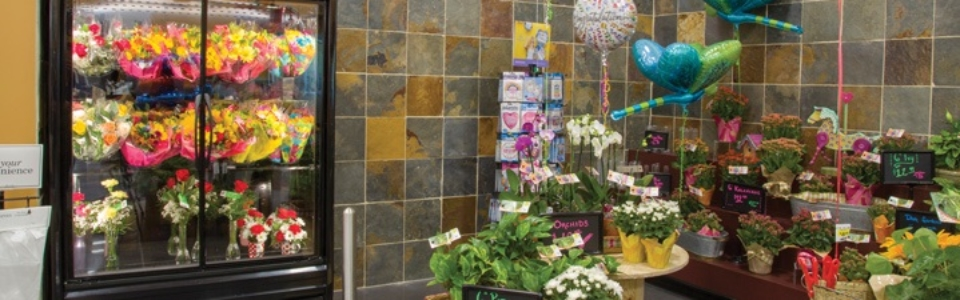 Photo of floral department