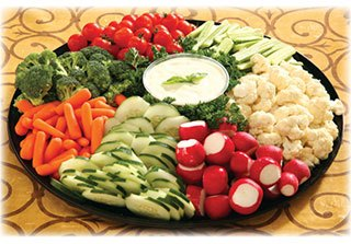 Deli Tray - Vegetable Tray