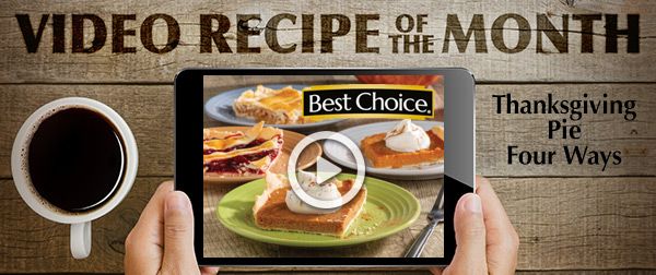 Best Choice Video of the Month: Thanksgiving Pie Four Ways